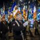 5 décembre 2016 : à l'appel du Cercle de Défense des combattants d'Afrique du Nord (CDC-AFN) constitué d'une vingtaine d'associations et de fédérations d'anciens combattants, entre 600 et 1000 porte-drapeaux ont rendu hommage aux morts en Algérie et en Afrique du Nord pendant la guerre d'Algérie sur les Champs Elysées et sous l'Arc de Triomphe. Paris, France.